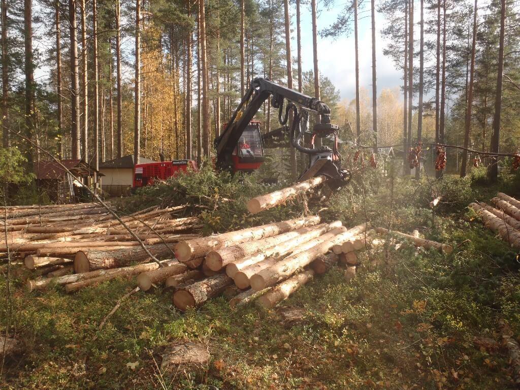 Metsäkoneurakointi